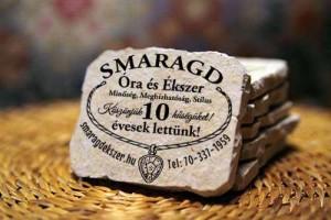 Kereszt-Média Kft. - Smaragd kő hűtőmágnes