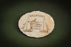 Balaton,-tihanyos-ov---kő-hűtőmágnes