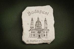 Budapest,-Bazilika---kő-hűtőmágnes