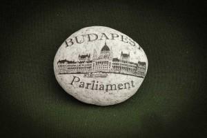 Budapest,-Parliament---kő-ajándéktárgy