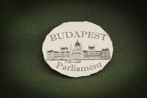Budapest,-Parliament---kő-hűtőmágnes