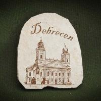 Debrecen---kő-hűtőmágnes