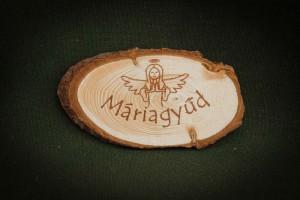 Máriagyűd,-Angyalkás---fa-hűtőmágnes