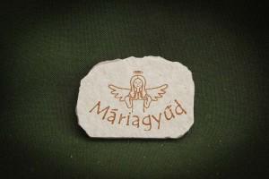 Máriagyűd,-Angyalkás---kő-hűtőmágnes