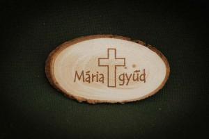 Máriagyűd,-Kereszt---fa-hűtőmágnes