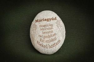 Máriagyűdi-emlék---kő-ajándéktárgy