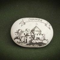 Sümegi-vár---kő-ajándéktárgy