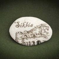 Siklós---kő-ajándéktárgy