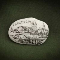 Veszprém---kő-ajándéktárgy