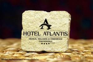 Kereszt-Média Kft. - Hotel Atlantis kő hűtőmágnes