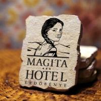 Kereszt-Média Kft. Magita Hotel kő hűtőmágnes